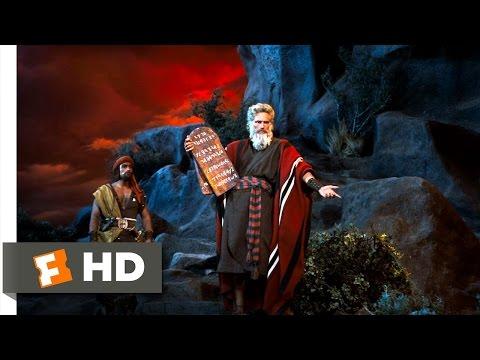 The Ten Commandments (7/10) Movie CLIP - Moses Presents the Ten Commandments (1956) HD