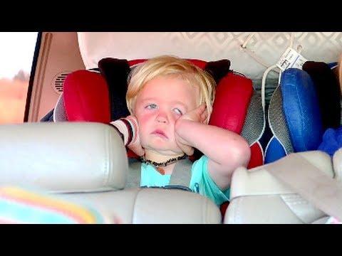 Road Trip Disaster | Toddler Throw Up...
