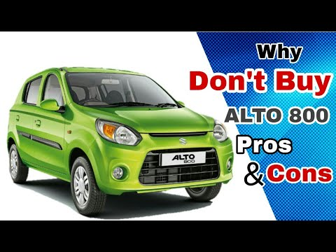 5 Reasons Why NOT TO Choose Maruti Suzuki ALTO 800, Vs Renault KWID, Pros & Cons Honest Opinion