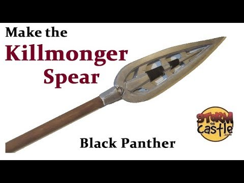 Make the Killmonger Spear from Black Panther