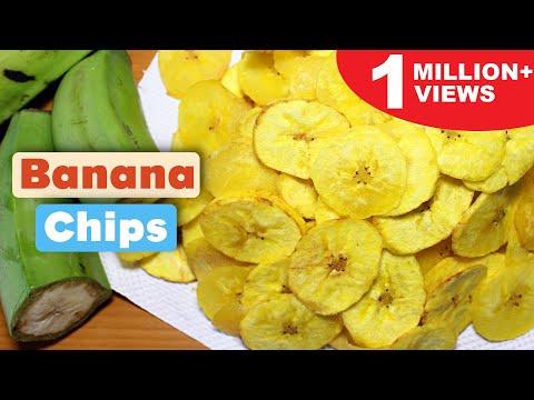 How to Make Banana Chips | Homemade Banana Chips Recipe | Kanak's Kitchen