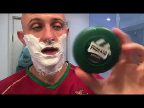 Proraso Green Shaving Soap lather Review