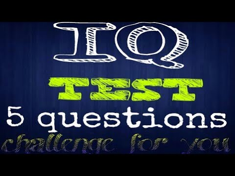 IQ test | Only 2% can answer this question |