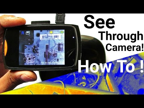 📸 Thermal Imaging Infrared Camera for Night Vision : How to Make it