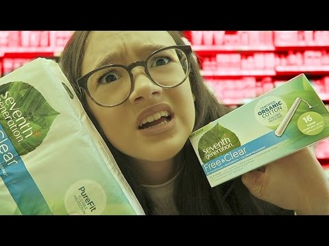 Period Probs... Should I Try Tampons?! FionaFrills Vlogs