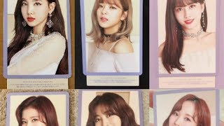 "TWICE JAPAN 2nd BEST ALBUM ""#TWICE2"" Photocard Preview"