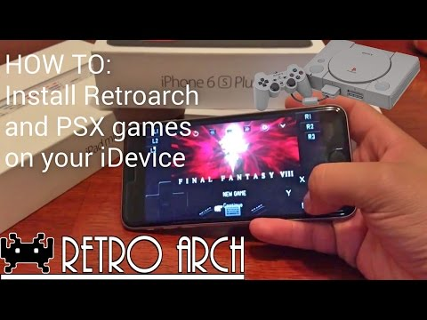 HOW TO: INSTALL PSX GAMES AND RETROARCH ON YOUR IDEVICE!