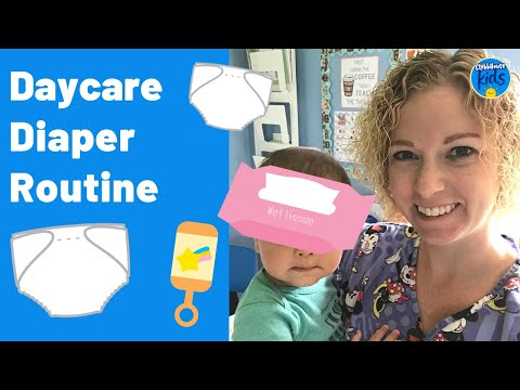 Changing Diapers in Home Daycare