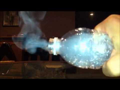 Water Bottle Pressure smoke