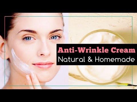 Natural Homemade Anti-Wrinkle Cream Recipe
