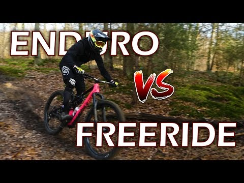 FREERIDE VS ENDURO / Ca roule fort à Chenay | DROP