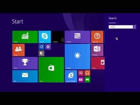 How to Disable Automatic Sleep Mode in Windows® 8 1