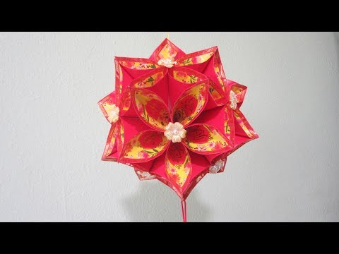 CNY TUTORIAL NO. 75 - Hongbao Ornamental Ball