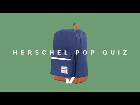 The Herschel Pop Quiz Backpack
