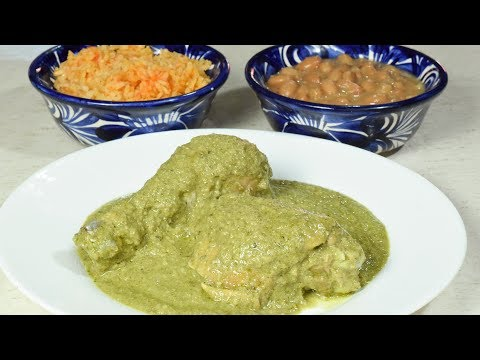 Delicioso!!!!  Mole Verde Estilo Oaxaca