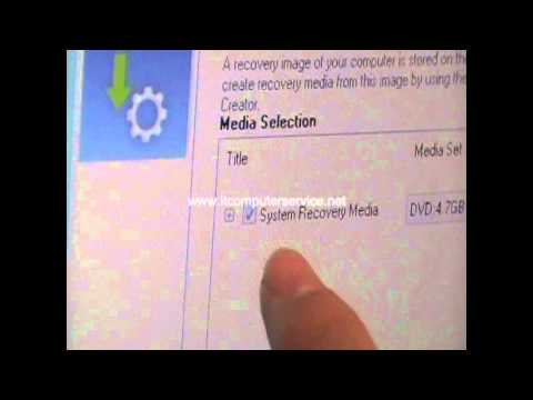 How to create Windows 8 recovery disc with Toshiba Satellite