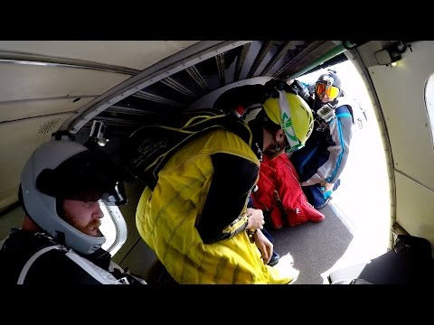 Head Down Wingsuit Flight - 00577