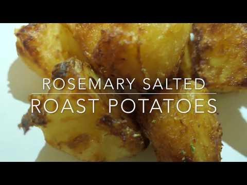 Rosemary Salted Roast Potatoes | Sara Asiya