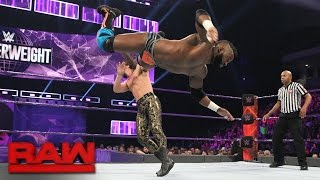 Cedric Alexander vs. The Brian Kendrick: Raw, Jan. 16, 2017