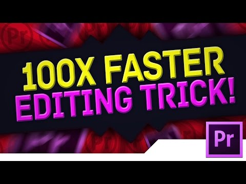 [TRICK/TIP] Adobe Premiere Pro CS6/CC Tutorial: How To Trim, Cut & Edit YouTube Videos 100x Faster