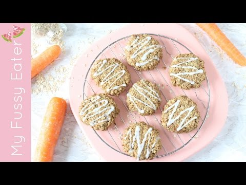 Carrot Cake Cookies - Gluten, Dairy & Egg Free | Cooking with Kids