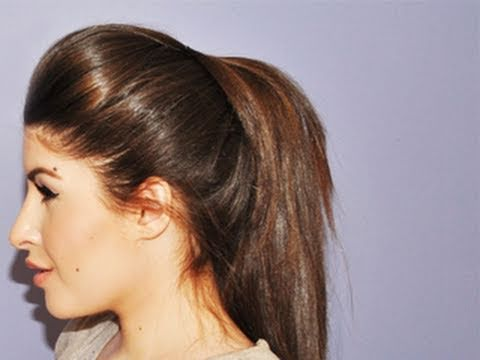 Volumized Ponytail Hair Tutorial​​​ | MissJessicaHarlow​​​