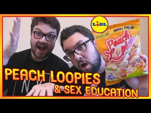 Lidl Peach Loopies Review & Sex Education