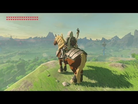 Breath of the Wild: Horse on Great Plateau | No Hacks!