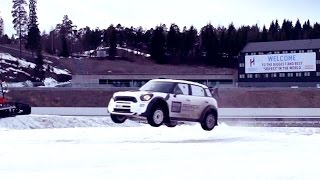 EPIC Winter Sports Rally Challenge: The Stig Vs Team Norway - BBC Brit Launches In Norway