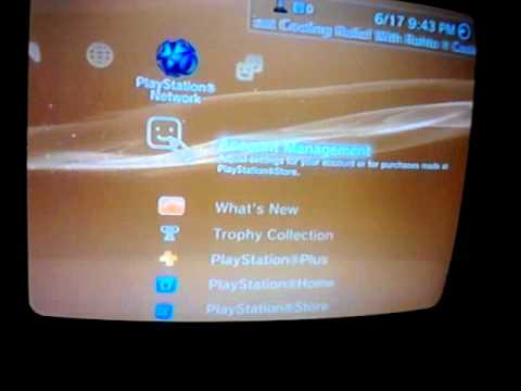 How to change your online id name, on PS3