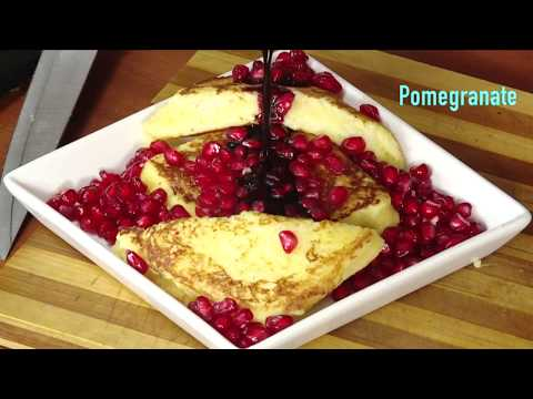 Beetroot Pomegranate Toast