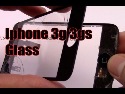 Sostituzione Vetro iphone 3g 3gs sostituzione tasto home iphone 3g 3gs glass & home button