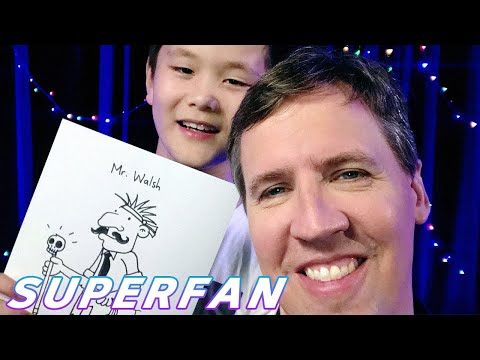 Tristan interviewed JEFF KINNEY, author of the Wimpy Kid series