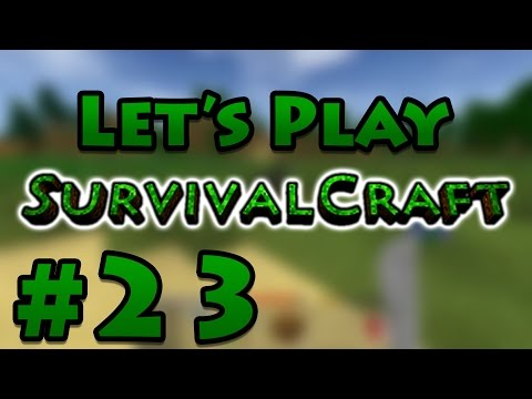 Let's Play Survivalcraft - E23: Pitfall Paranoia