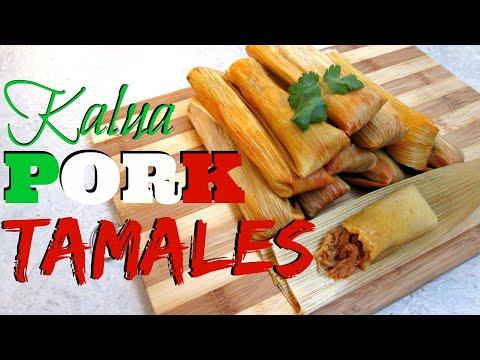 Tamale Recipe - Kalua Pork Tamales - PoorMansGourmet