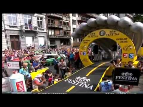 Tour de France 2012 Prologue Highlights