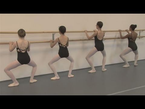 How To Practice The Plie Ballet Position