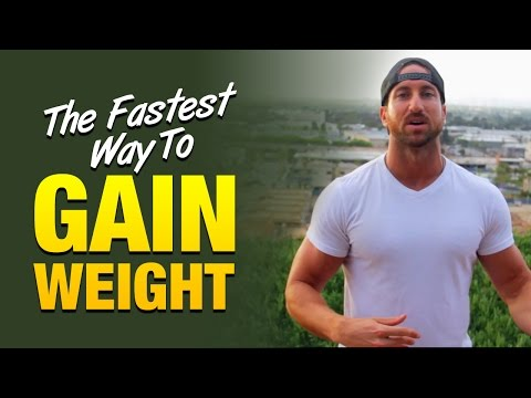 Fastest Way To Gain Weight: Increase Your Anabolic Hormones By Doing This