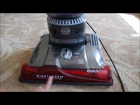 Hoover High Performance Pet Bagless Upright Vacuum Review