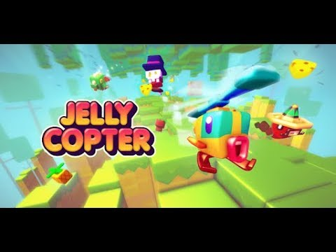Jelly Copter (by Kiloo) - iOS/Android - Gameplay Trailer