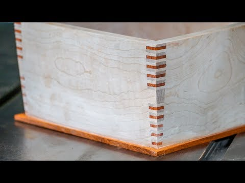 How to Make a Center-Keyed, Splined Box Joint
