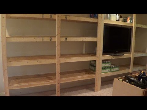 My First Garden #18: Building Pantry Storage Shelves