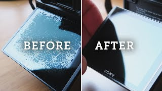 SONY A7R II – Easy Fix for Damaged LCD Screens