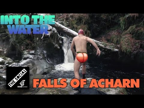 Falls Of Acharn Winter Swim | Into The Water