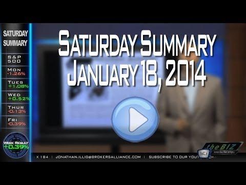 Saturday Summary - January 18, 2014