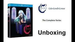 Unboxing: C3 - Cube x Cursed x Curious: The Complete Series (Blu-ray / DVD Combo Pack) [HD]