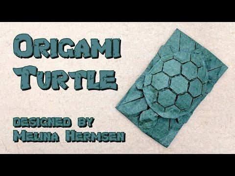 Origami Tutorial: Tessellated Turtle