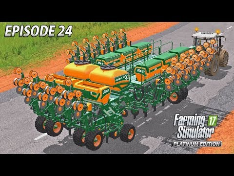 MONSTER SEEDER | Farming Simulator 17 Platinum Edition | Estancia Lapacho - Episode 24