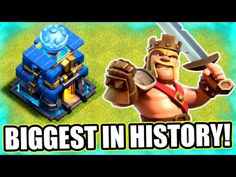 BIGGEST UPDATE IN CLASH OF CLANS HISTORY!! - NEW SNEAK PEEK!
