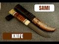 "Sami Knife ""Woodsman"" | Girvas Knives"